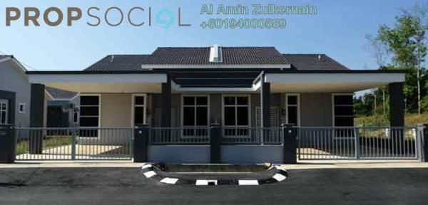 Semi-Detached For Sale in Taman Desa Melor 2, Baling Freehold Unfurnished 4R/2B 303k
