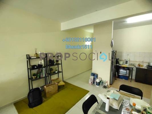 Apartment For Sale in Merak Apartment, Bandar Kinrara Freehold Unfurnished 3R/2B 370k