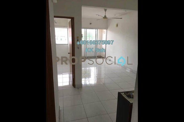 Townhouse For Sale in Bandar Damai Perdana, Cheras South Freehold Semi Furnished 3R/2B 428k