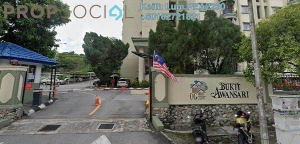 Condominium For Sale in Bukit Awansari, Old Klang Road Freehold Semi Furnished 3R/2B 365k