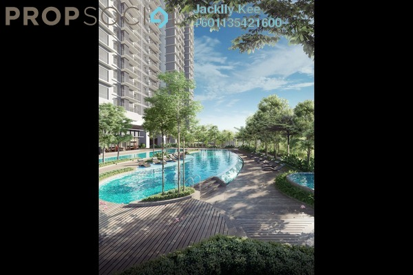 Serviced Residence For Sale in The Goodwood Residence, Bangsar South Freehold Semi Furnished 3R/2B 675k