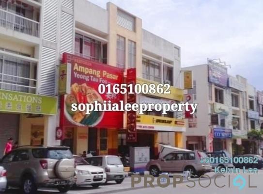 Shop For Sale in Mahkota Walk, Bandar Mahkota Cheras Freehold Semi Furnished 0R/0B 2.9m