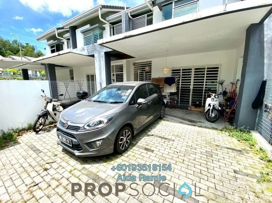Terrace For Sale in Laman Orkid, Nilai Freehold Semi Furnished 4R/3B 460k