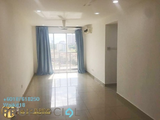 Condominium For Sale in Larkin Heights, Johor Bahru Freehold Semi Furnished 3R/2B 330k