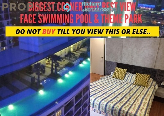 Serviced Residence For Sale in i-City, Shah Alam Freehold Fully Furnished 2R/2B 600k