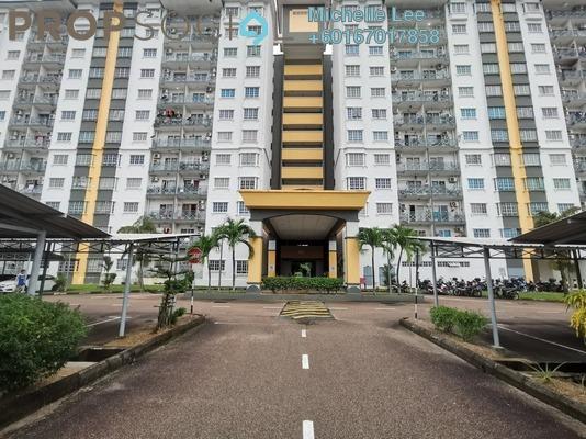 Apartment For Sale in Impian Senibong, Bandar Baru Permas Jaya Freehold Unfurnished 3R/2B 248k
