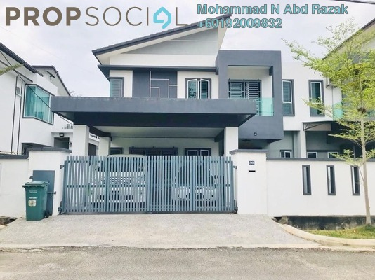 Semi-Detached For Sale in Taman Sri Layang, Mentakab Freehold Unfurnished 4R/10B 530k