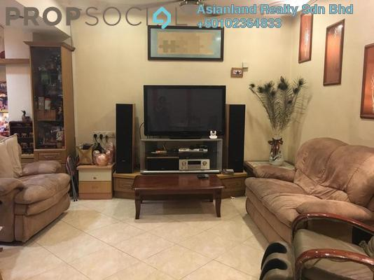 Terrace For Sale in Taman Petaling Utama, PJ South Freehold Fully Furnished 5R/3B 1.18m