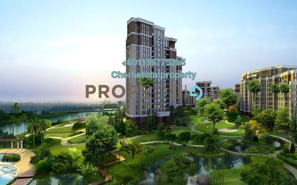 Condominium For Rent in Concerto Kiara, Dutamas Freehold Semi Furnished 3R/5B 3.4k