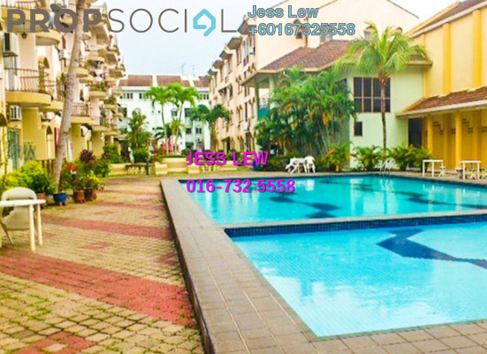 Condominium For Sale in Golden Showers, Klebang Freehold Fully Furnished 3R/2B 240k
