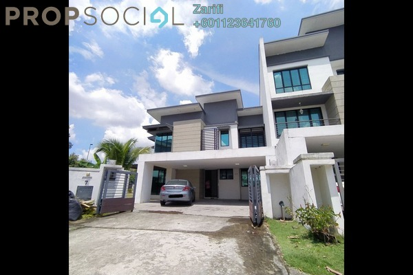 Terrace For Sale in Zircona, Alam Impian Freehold Semi Furnished 4R/6B 1.49m
