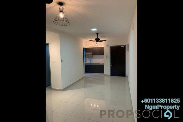 Condominium For Rent in Boulevard Serviced Apartment, Jalan Ipoh Freehold Semi Furnished 3R/2B 1.25k