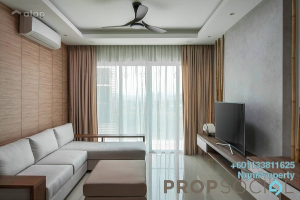 Condominium For Rent in Villa Angsana, Jalan Ipoh Freehold Semi Furnished 3R/2B 1.35k