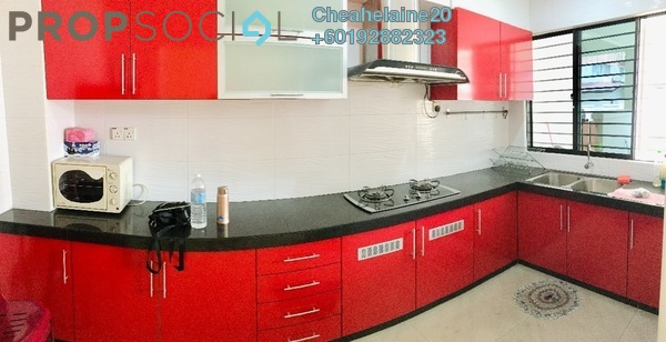 Townhouse For Rent in Villa Mas 2, Jalan Ipoh Freehold Fully Furnished 4R/3B 1.8k
