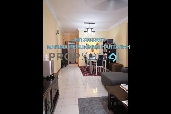Apartment For Sale in Cengal Condominium, Bandar Sri Permaisuri Freehold Semi Furnished 3R/2B 365k