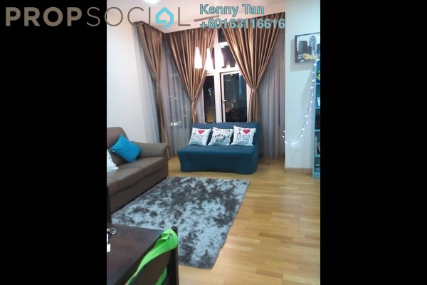 Serviced Residence For Rent in Dua Sentral, Brickfields Freehold Fully Furnished 1R/1B 1.5k