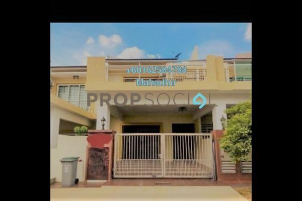 Terrace For Sale in Nada Alam, Nilai Freehold Semi Furnished 4R/4B 535k