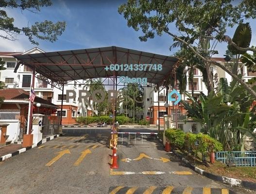 Apartment For Sale in Villa Danau, Setapak Freehold Unfurnished 3R/2B 340k
