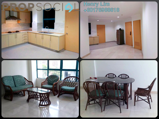Condominium For Rent in D'Mayang, KLCC Freehold Fully Furnished 2R/2B 2.7k