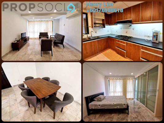 Condominium For Rent in Vista Damai, KLCC Freehold Fully Furnished 1R/2B 2.5k