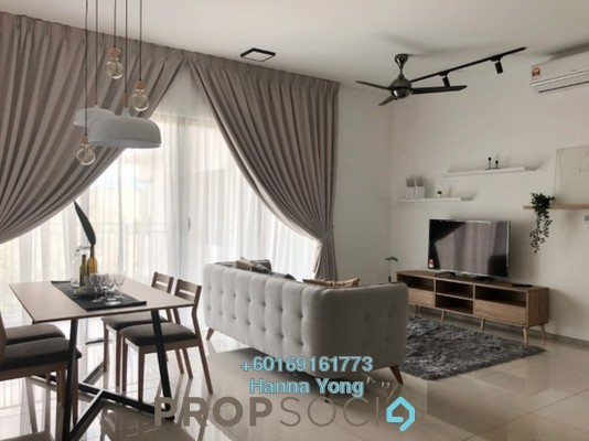 Serviced Residence For Rent in Sunway Mont Residences, Mont Kiara Freehold Fully Furnished 2R/2B 4.2k