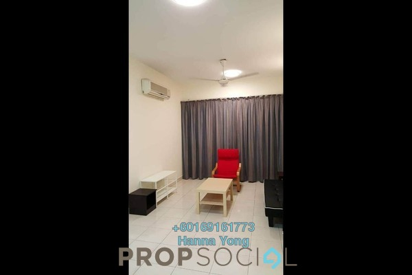 Serviced Residence For Sale in e-Tiara, Subang Jaya Freehold Fully Furnished 3R/2B 520k