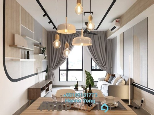 Serviced Residence For Rent in Paramount Utropolis, Glenmarie Freehold Fully Furnished 2R/2B 1.8k