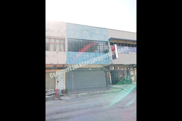 Shop For Sale in Taman Klang Jaya, Klang Freehold Fully Furnished 0R/0B 650k