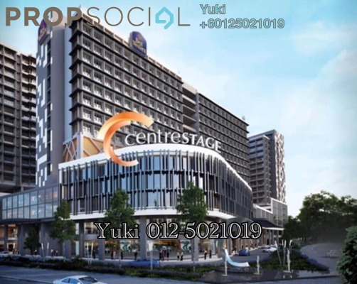 Condominium For Sale in Centrestage, Petaling Jaya Freehold Semi Furnished 3R/2B 738k