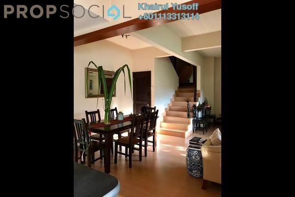 Townhouse For Sale in Kiara Green, TTDI Freehold Unfurnished 3R/2B 860k
