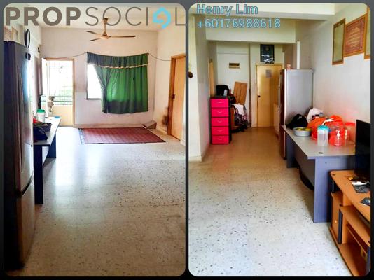 Apartment For Sale in Taman Bukit Pandan, Cheras Leasehold Unfurnished 3R/1B 148k