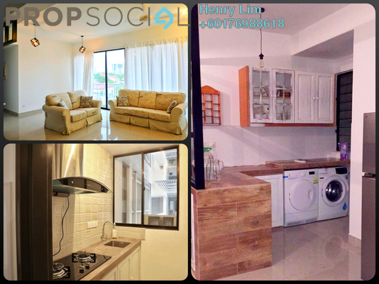 Condominium For Sale in Denai Sutera, Bukit Jalil Freehold Fully Furnished 3R/2B 700k