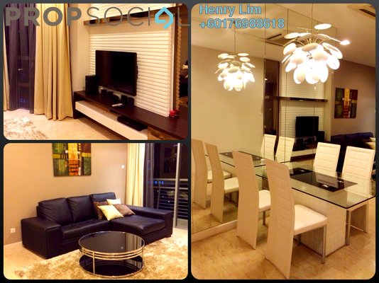 Condominium For Rent in Idaman Residence, KLCC Freehold Fully Furnished 2R/2B 4k