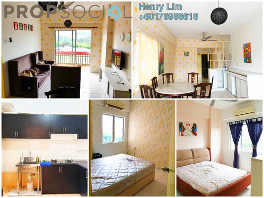 Condominium For Sale in Langat Jaya, Batu 9 Cheras Freehold Semi Furnished 3R/2B 350k