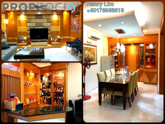 Superlink For Sale in Taman Esplanad, Bukit Jalil Freehold Fully Furnished 6R/4B 1.99m