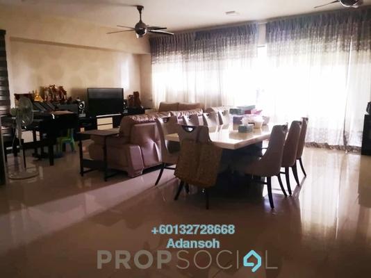 Condominium For Sale in Azelia Residence, Bandar Sri Damansara Freehold Semi Furnished 3R/4B 1.4m
