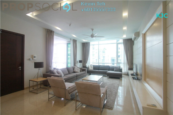 Condominium For Rent in Sunway Vivaldi, Mont Kiara Freehold Fully Furnished 3R/4B 8k