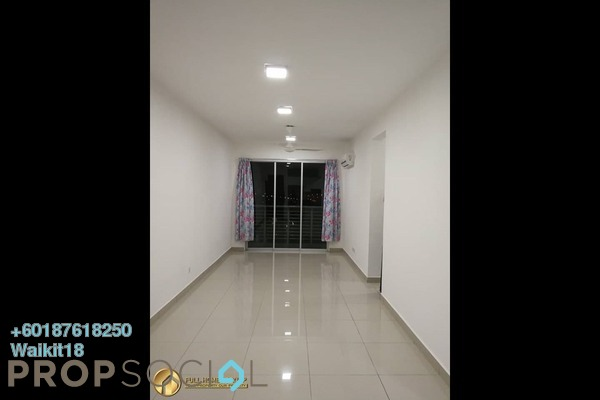 Condominium For Sale in Larkin Heights, Johor Bahru Freehold Semi Furnished 3R/2B 340k