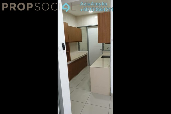 Condominium For Rent in Sentul Rafflesia, Sentul Freehold Semi Furnished 3R/2B 1.7k