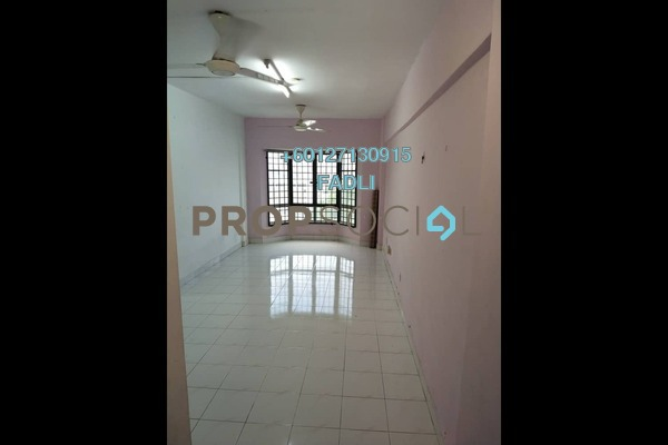 Apartment For Sale in Taman Bukit Angkasa Flat, Pantai Freehold Fully Furnished 3R/2B 350k