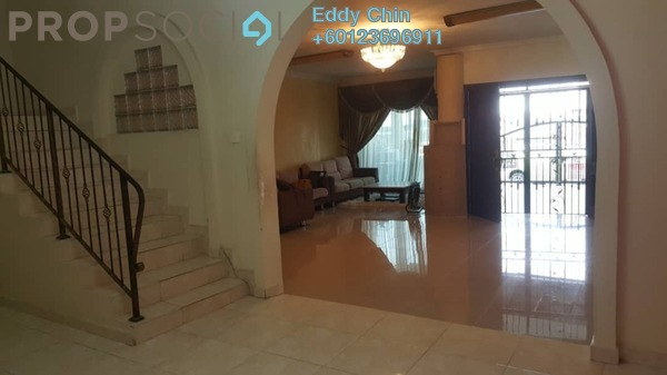 Terrace For Sale in Taman Taynton View, Cheras Freehold Semi Furnished 5R/3B 900k