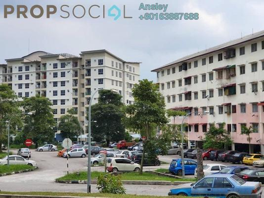 Apartment For Sale in Section 6, Bandar Mahkota Cheras Freehold Unfurnished 3R/2B 150k