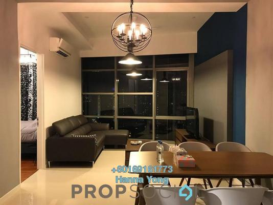 Serviced Residence For Rent in The Azure Residences, Kelana Jaya Freehold Fully Furnished 2R/1B 2.65k