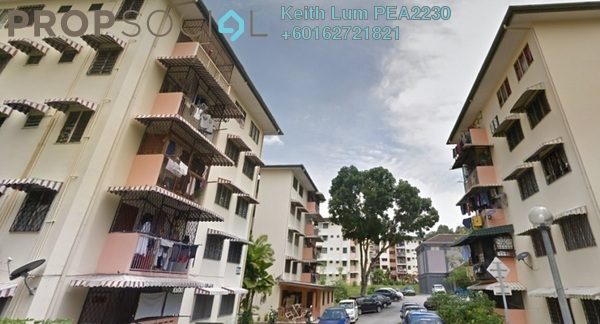 Apartment For Sale in Section 2, Wangsa Maju Freehold Semi Furnished 3R/2B 280k