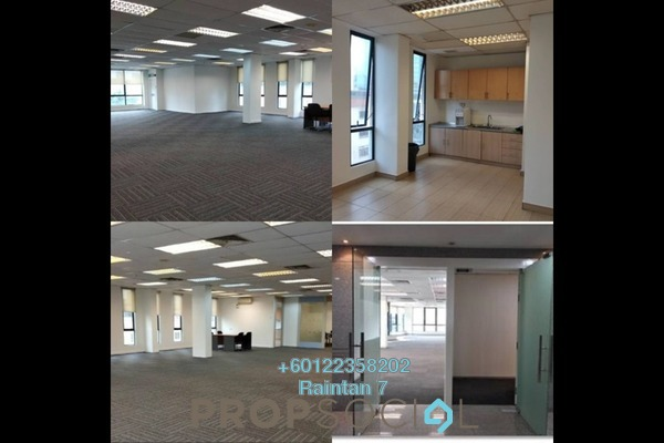 Office For Rent in Wisma Bangsar 8, Bangsar Freehold Semi Furnished 3R/0B 14.8k