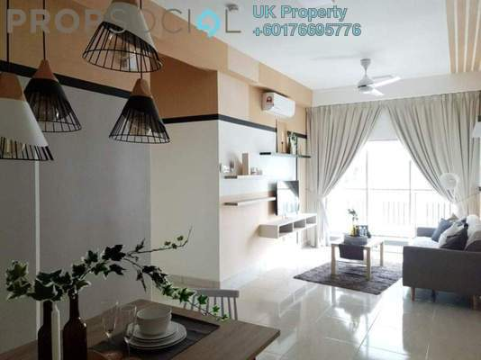 Condominium For Rent in BSP 21, Bandar Saujana Putra Freehold Semi Furnished 3R/2B 1.8k