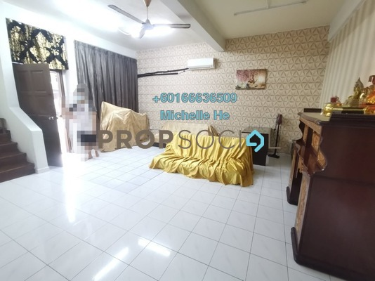 Terrace For Sale in Taman Iskandar, Johor Bahru Freehold Semi Furnished 4R/3B 550k