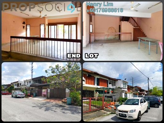Terrace For Sale in Taman Connaught, Cheras Freehold Unfurnished 4R/3B 650k