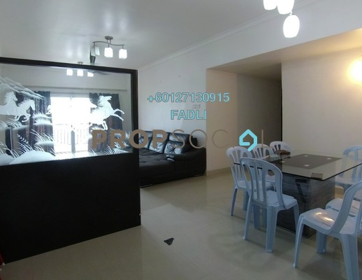 Condominium For Sale in Continental Heights, Kuchai Lama Freehold Fully Furnished 4R/3B 489k