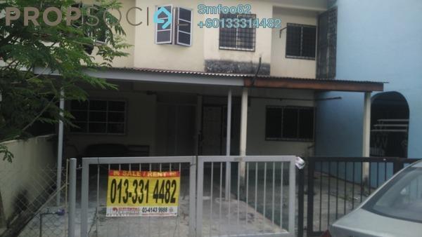 Terrace For Rent in Taman Permata, Wangsa Maju Freehold Unfurnished 2R/2B 1.2k